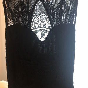 Nasty Gal Tops - Sleeveless Nasty Gal Lace Bodysuit
